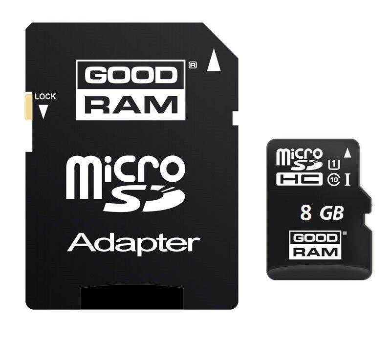 Karta MicroSD 8GB Class 10