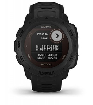 Cechy Garmin Instinct Tactical Edition Solar