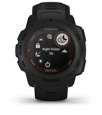 Zaleta Garmin Instinct Tactical Edition Solar