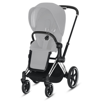 Cybex Priam 2.0 Rama Chrome Black