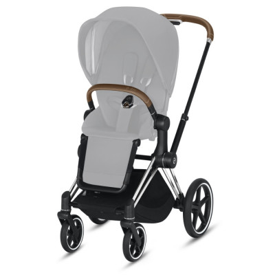 Cybex Priam 2.0 Rama Chrome Brown