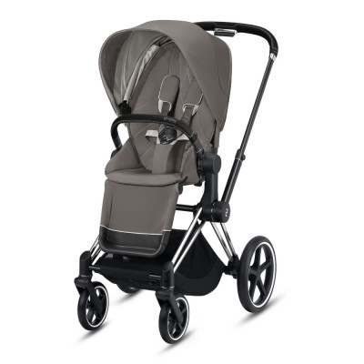 Cybex Priam 2.0 Chrome Black Soho Grey