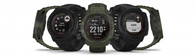 Garmin Instinct Tactical Edition Solar - przewagi